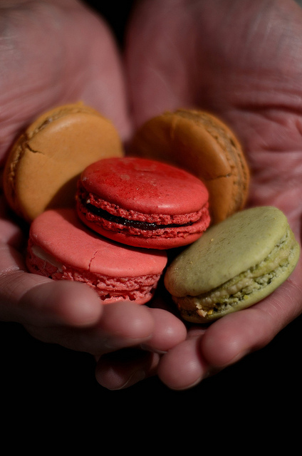 macaroons macarons paris laduree dof close up nikon