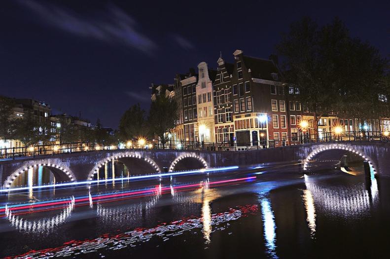 Keizersgracht Leidsegracht canals Amsterdam