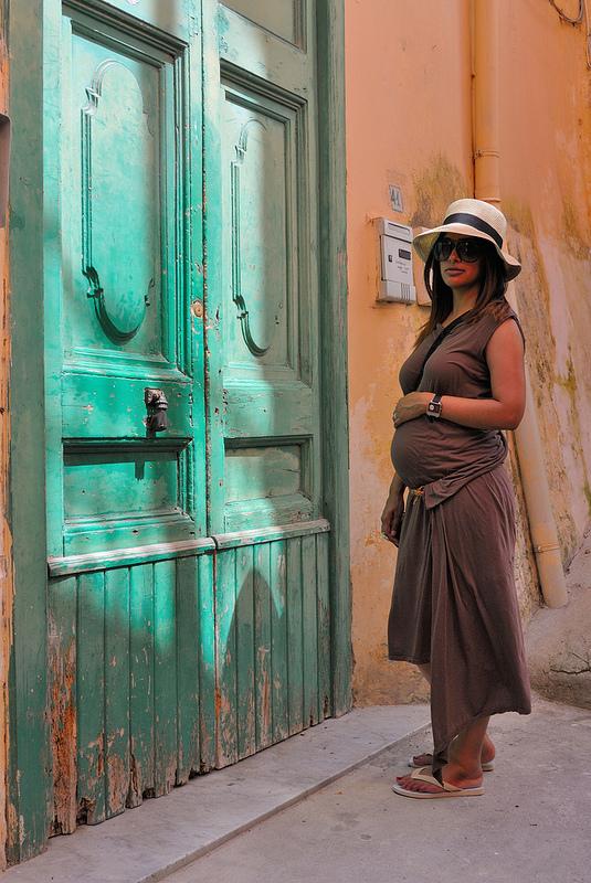 rick owens drkshdw maternity pregnancy