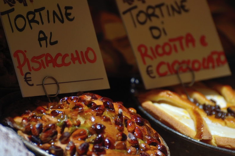 rome bakery tortine al pistacchio ricotta