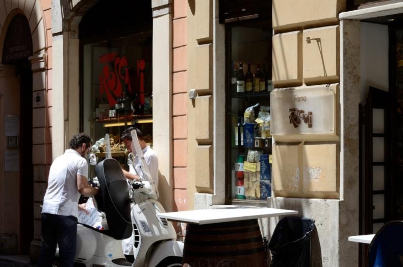 sweets italian bakery italy rome