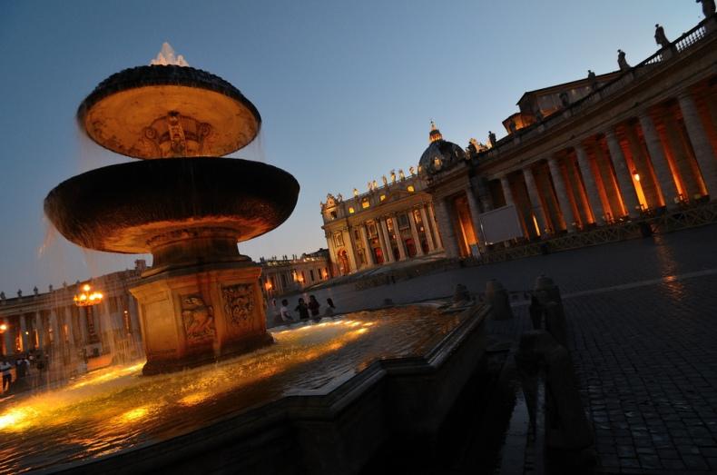 Fontane di Piazza San Pietro