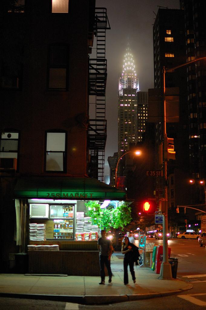 nikon photography skyline new york city street corner
