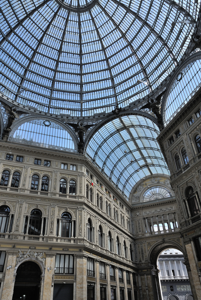 naples italia shopping architecture