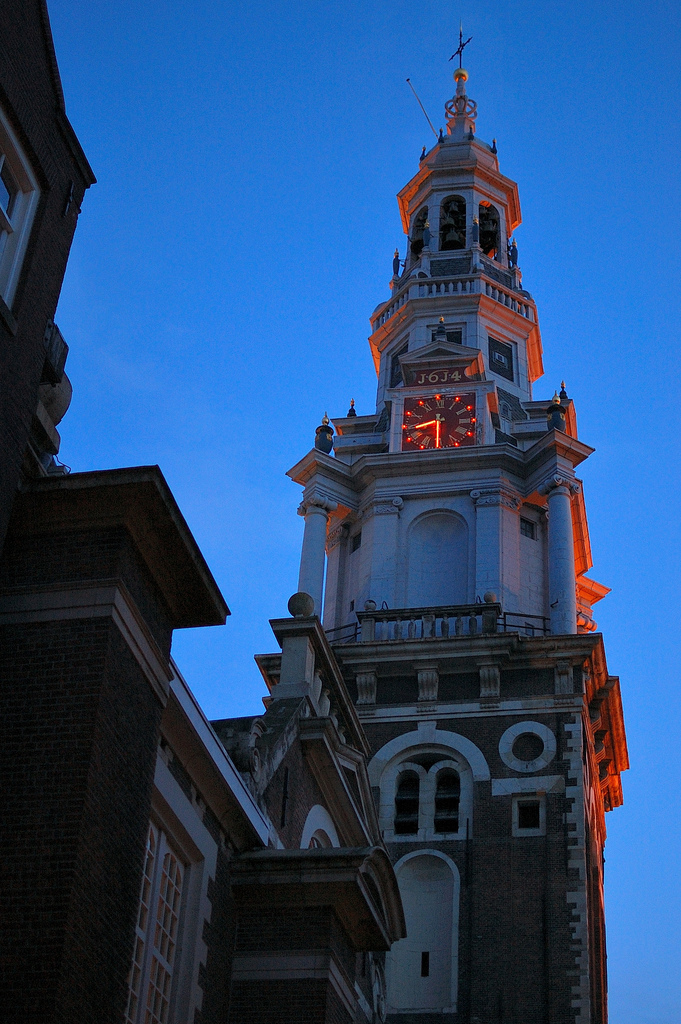 nikon d40 sunset steeple architecture