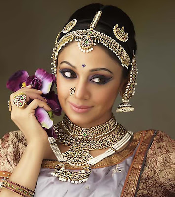 shobhana kerala actress dancer bharatanatyam makeup jewelry